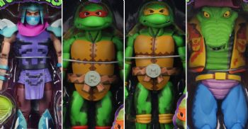 NECA Teenage Mutant Ninja Turtles - Turtles in Time Wave 2 full set of 4